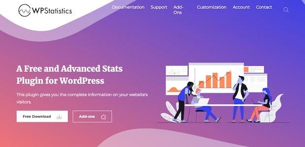 wp statistics analytics